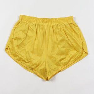 Vintage Silky Nylon Lined Running Short Shorts S